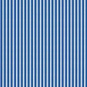Bilde av Bomull Blue Jubilee - blå striper