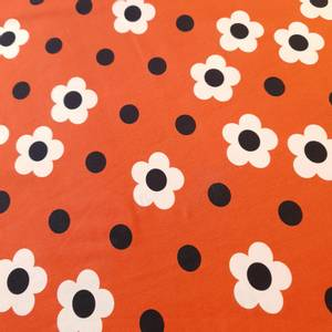 Bilde av Jersey - blomster og prikker