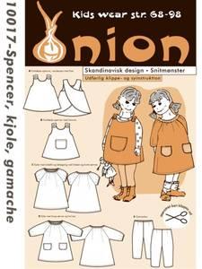 Bilde av Onion 10017 Forklekjole, kjole og tights