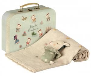 Bilde av Maileg Baby gavesett - støvet mint