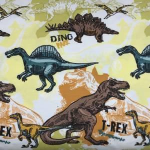 Bilde av Jersey - Dinosaurer, off-white og gul