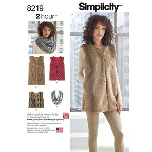Bilde av Simplicity 8219 Vest
