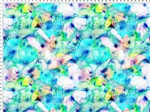Bilde av Jersey - sommerfugler blå
