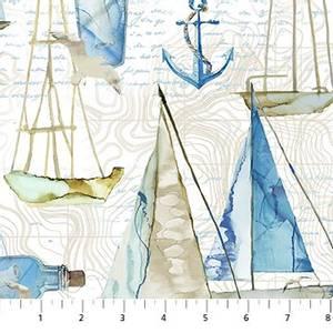 Bilde av Bomull - Sail Away, large boats