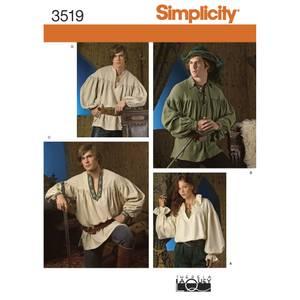 Bilde av Simplicity 3519 Kostyme