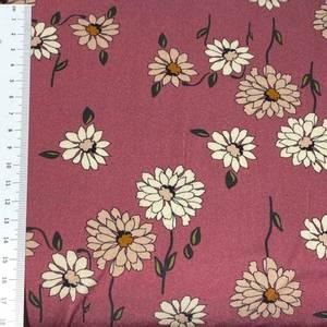Bilde av Viscose blomster prestekrage rosa
