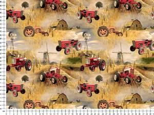 Bilde av Jersey - traktor, rød på gård