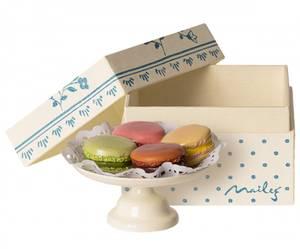 Bilde av Maileg - Makroner på kakefat